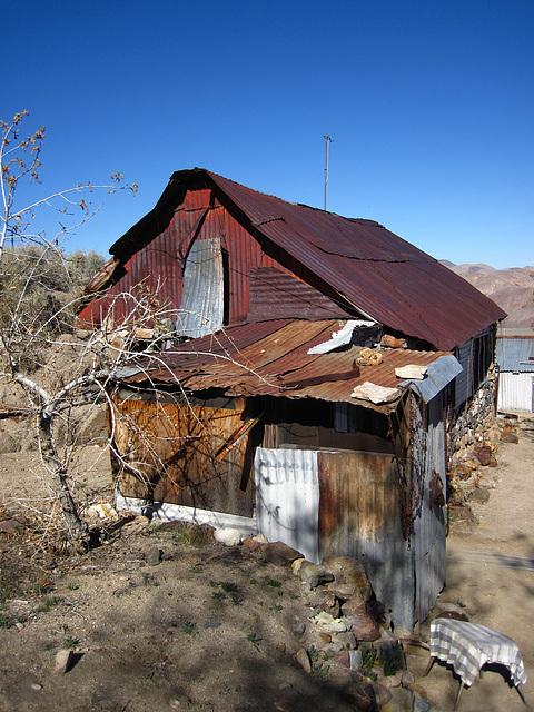 Cabin In Striped Butte Valley (4290)