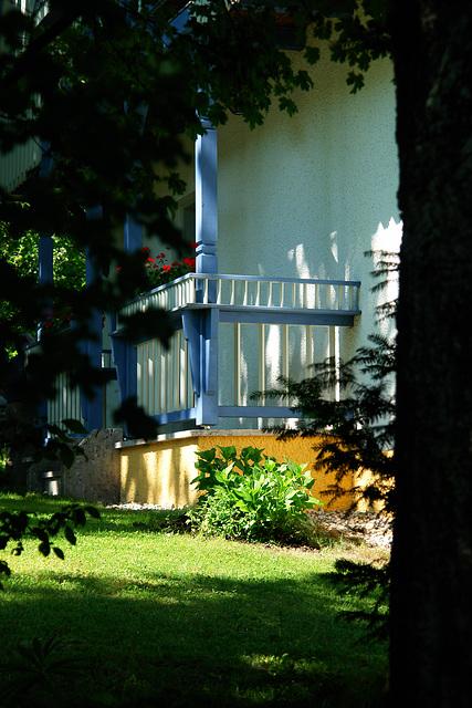 Murnau - The house of Gabriele Münter (detail)