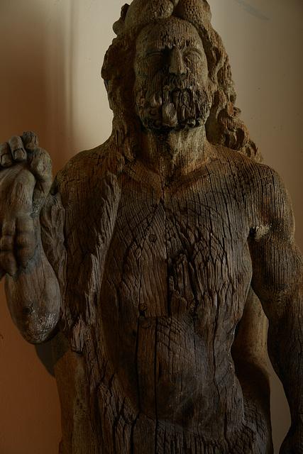Hercules-statue at Benediktbeuern
