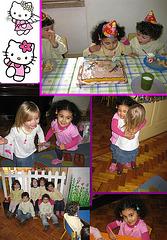 Rafaela, 3rd anniversary at the kindergarten