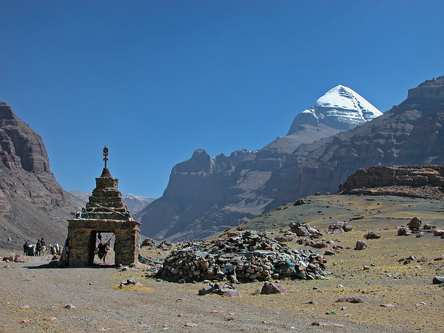 The Holy Kailash in Tibet