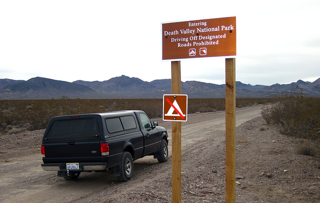 Entering Death Valley NP on Titus Canyon Road (4220)