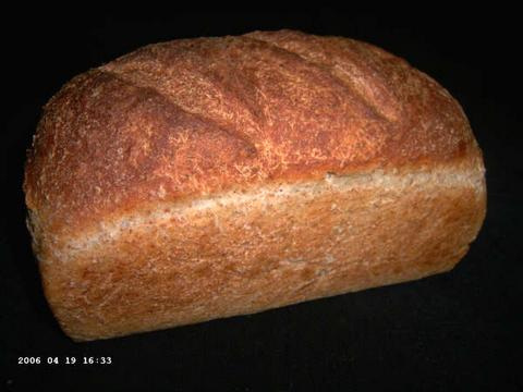 Bear Bread with Roasted Barley