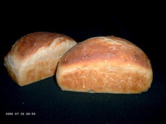 Broodjes van Baquette met Poolish deeg 2