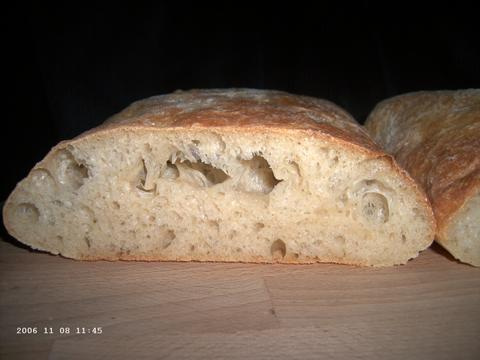 Ciabatta with Olive Oil and Wheat Germ 2