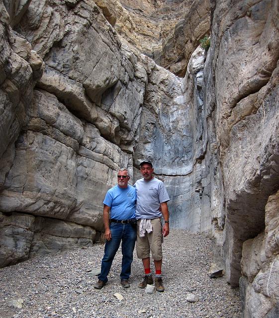 Ed & Steve In Fall Canyon (4247)
