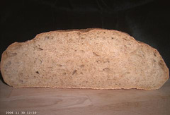 Pain de campagne sur poolish 2