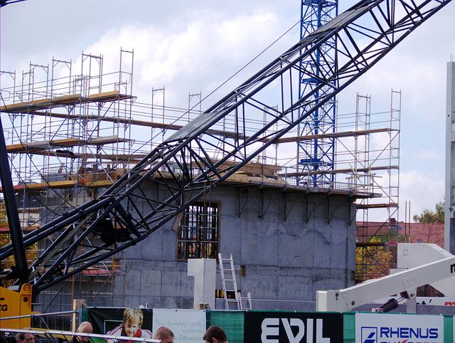 Baustelle beim Paderbornspiel
