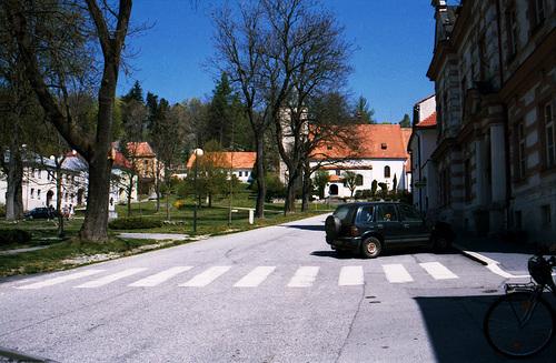 Town Square, Horni Plana, Budejovicky Kraj, Bohemia(CZ), 2007