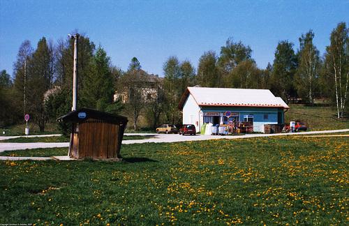 """Downtown"" Nova Pec, Sumava, Bohemia(CZ), 2007"