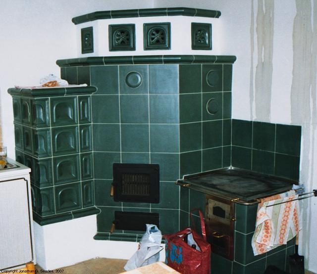 Ceramic Stove, Nova Pec, Sumava, Bohemia(CZ), 2007