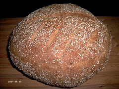Coarse-Grain Norwegian Farm Loaf 1