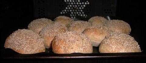 Semolina Sesame Rolls