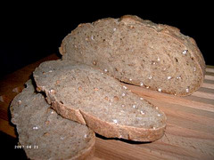 Wheat and Whole Berry Bread 2