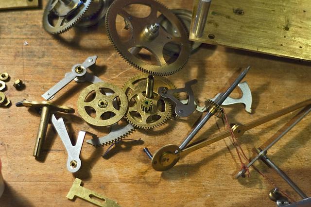 Clockmaker small parts