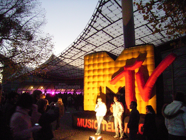 Music Television Inflatable