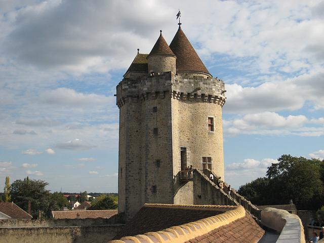 Château de Blandy - Le donjon