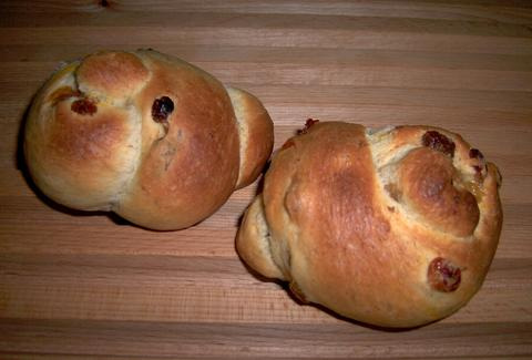 Czernowitzer Challah with Raisins 1
