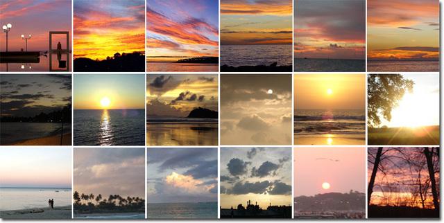 les couchers de soleil sur ipernity