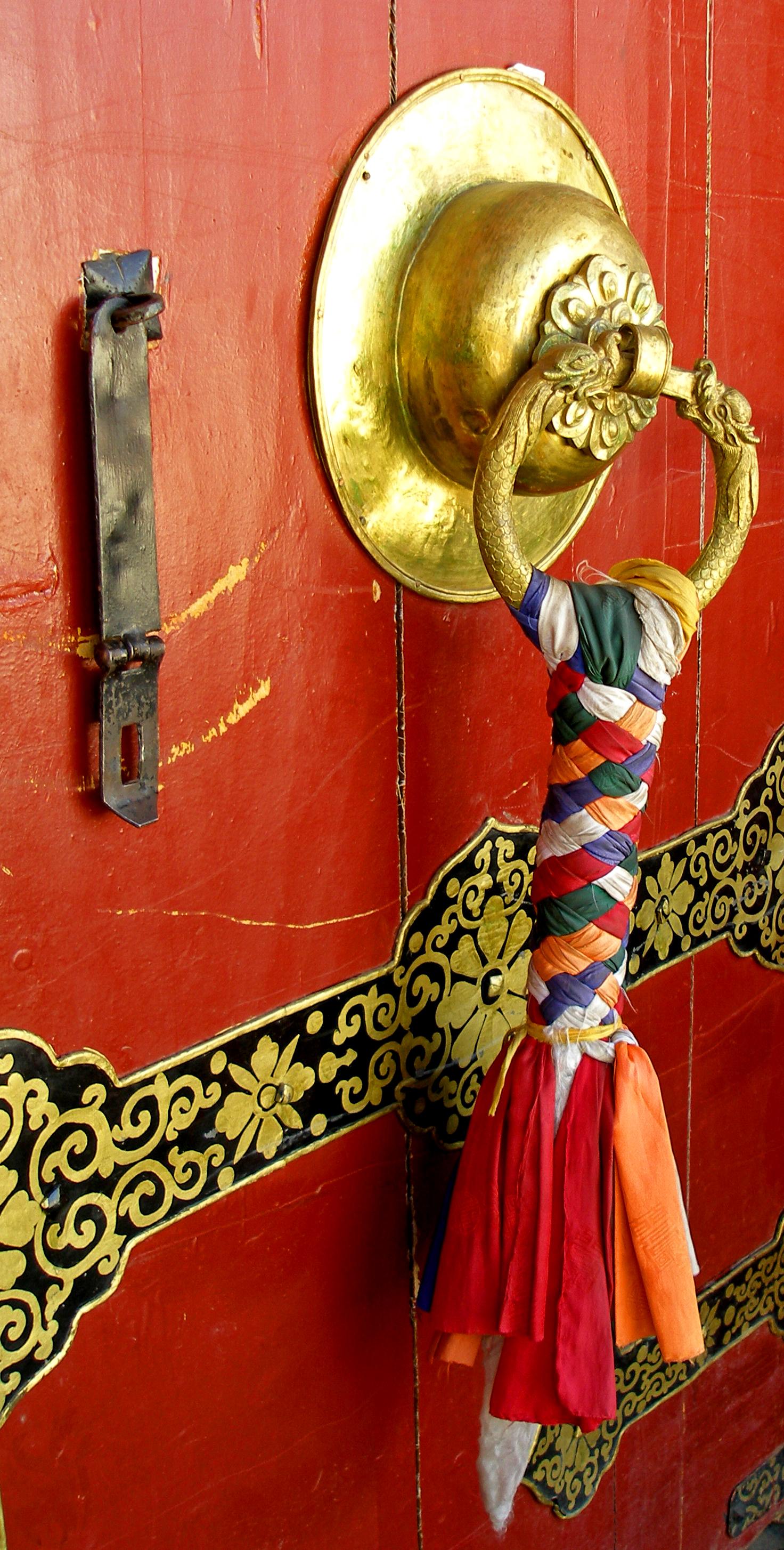 Lhasa Door