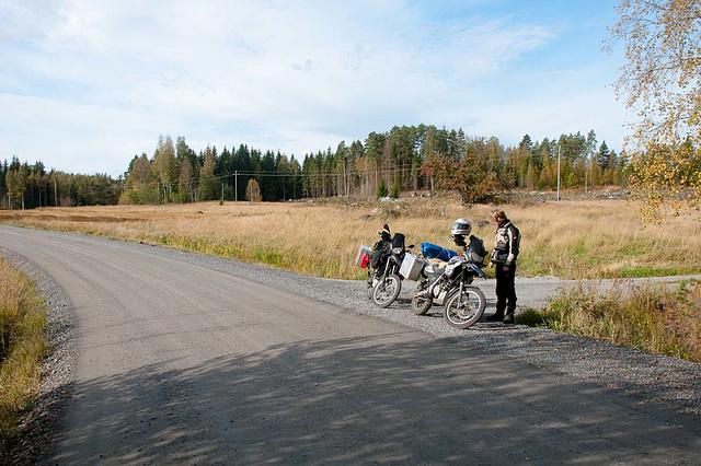 Schotterstop in Finnland - das wird geniaaaal