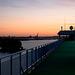 Hafen im Morgengrauen