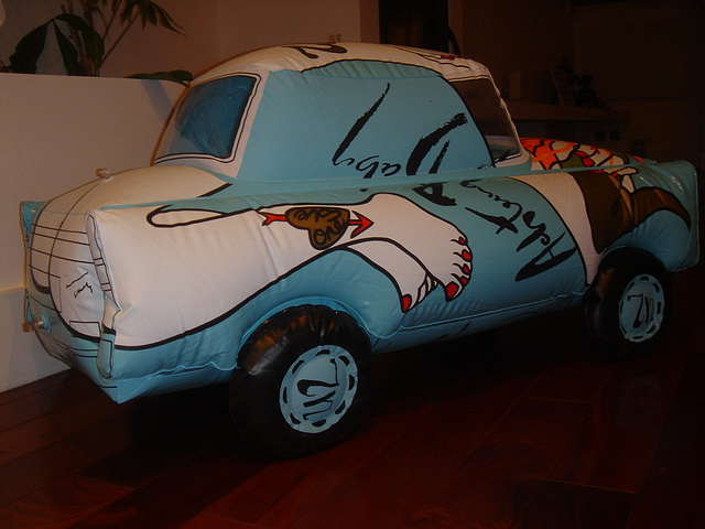 Inflatable car by U2