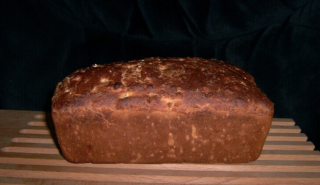 Maple Oat Batter Bread 1