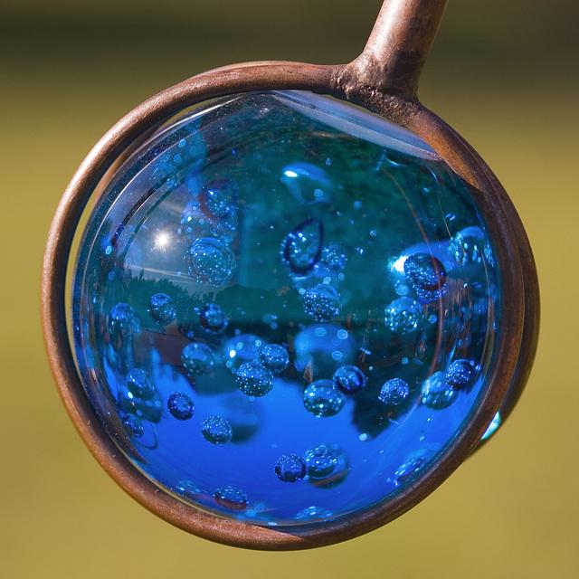 Captured bubbles