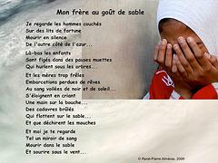 Mon frère au goût de sable, de René-Pierre Alméras