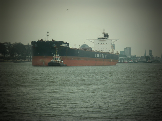 Frachter BESIKTAS TURKMENISTAN