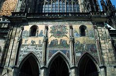 Portal On St. Vitus Cathedral, Prague, CZ, 2007