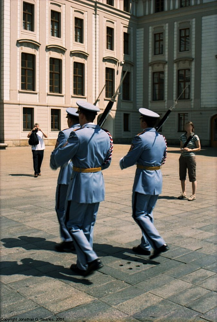 Prague Castle Guards, Prazky Hrad (Prague Castle), Prague, CZ, 2007