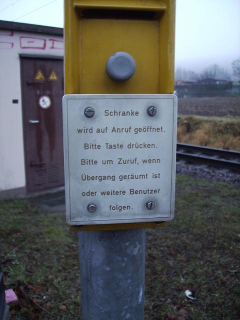 """""""auf zuruf"""" - the old style"""