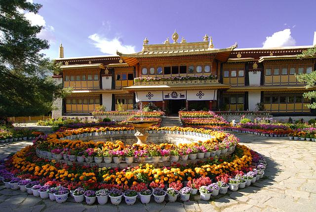 Lhasa Norbulingka Summer Palace
