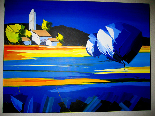 The Blue of the Colour (painting)