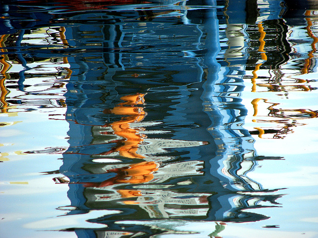 reflections in a little port 01