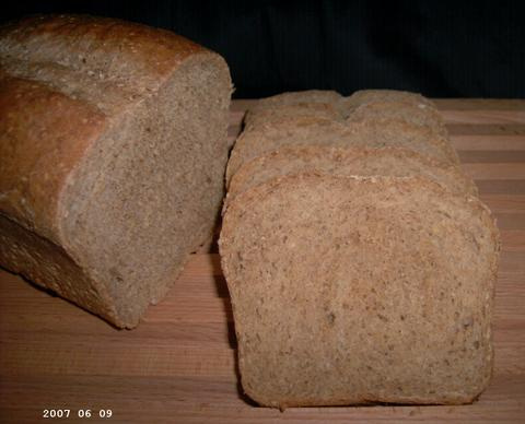 Sesame-Grain Bread 2