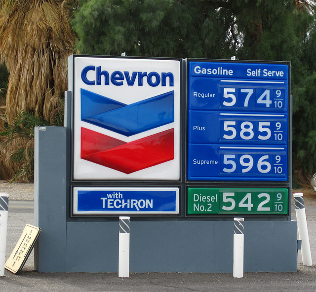 Furnace Creek Gas Prices (4211)