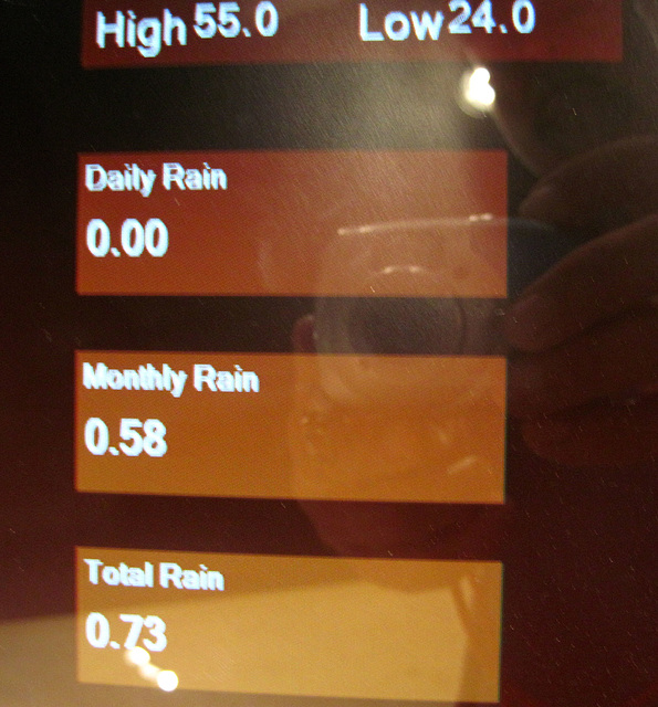 More than half an inch of rain in March 2013 (4312)