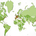 Google Analytics World Map