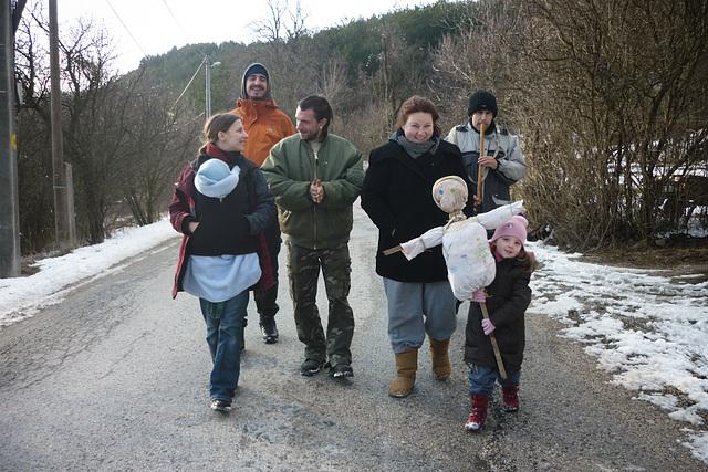 Jarný sprievod / Marzanna tradition