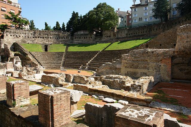 Trieste, Roman theatre