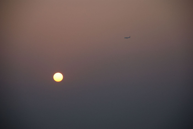 sun & plane