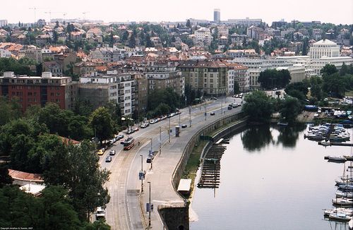 View From Vysehrad South