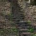 Icking - Treppe vom ehem. Lechnerhof zum Bahnhof