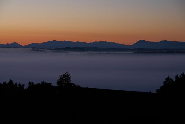 Isartal und Alpen I