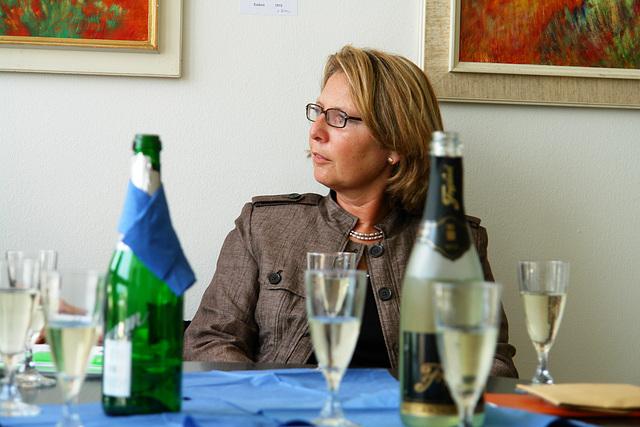 Frau Bürgermeisterin Menrad