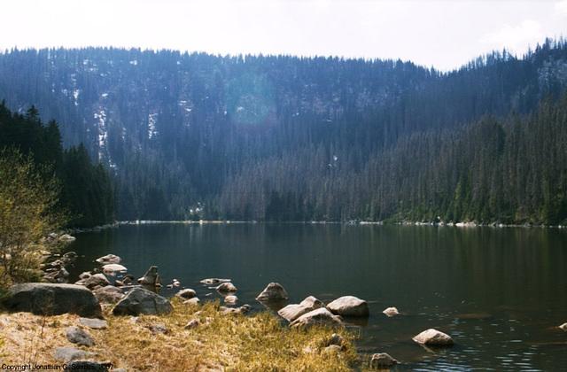Plesne Jezero, Picture 2, Sumavsky Narodni Pamatka, Bohemia(CZ), 2007