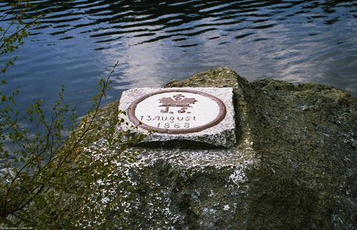 Plesne Jezero, Picture 7, Benchmark, Sumavsky Narodni Pamatka, Bohemia(CZ), 2007